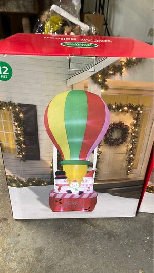 12ft inflatable hot air ballon brand new for Sale in Manteca, CA