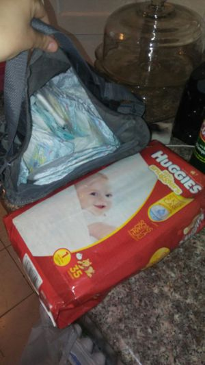 Huggies size 1 35 pc plus extra 21 pampers for Sale in Hayward, CA