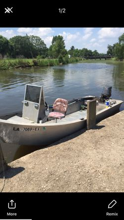 Boat motor and trailer for Sale in Gonzales,  LA