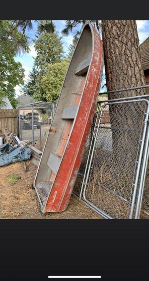 Meyers 12 Foot Semi-V Aluminum Boat for Sale in Spokane, WA