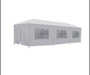 Party Tent Wedding 10'x30' Outdoor with 8 Removable Walls Birthday for Sale in Fresno, CA