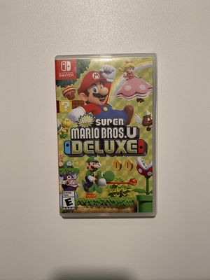 MARIO BROS U DELUXE FOR NINTENDO SWITCH for Sale in Maple Valley, WA