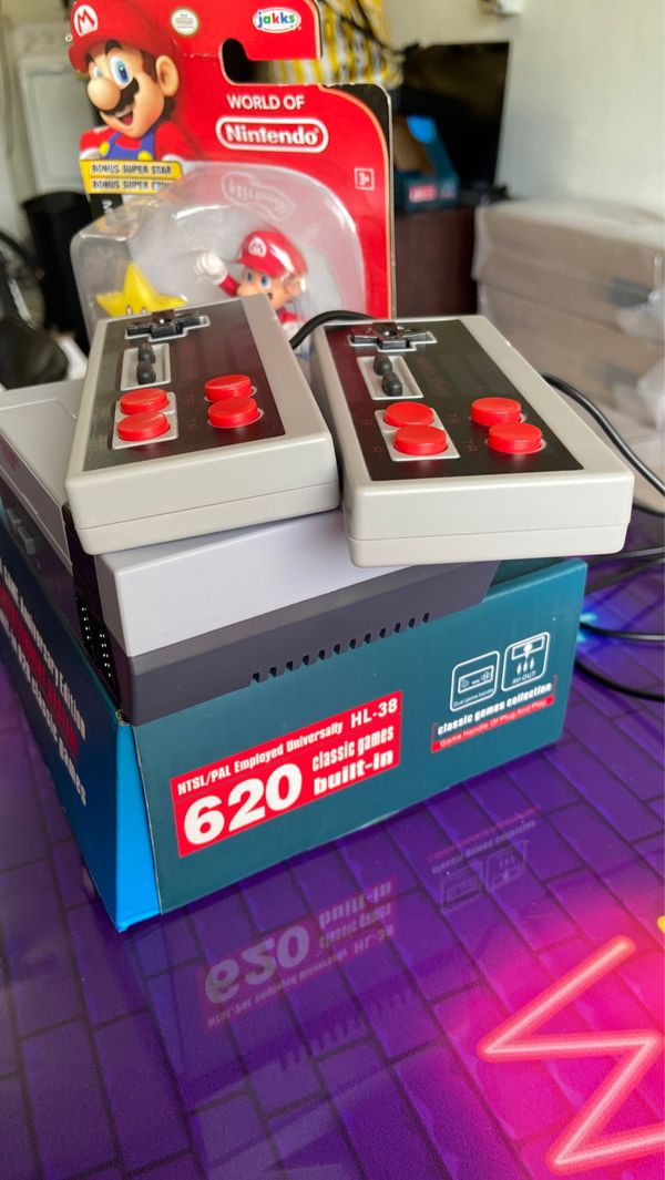** SPECIAL ** MINI-Nintendo anniversary Edition built in 620 Classic Games arcade games 👾 Retro games + MARIO World of Nintendo FREE
