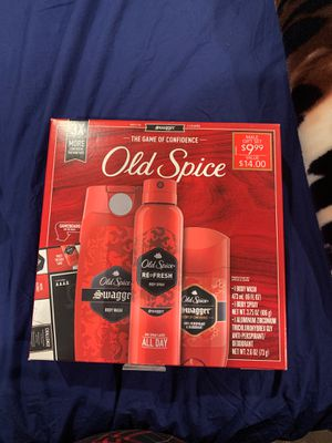 old spice set brand new purchased not too long ago for Sale in Orange, CA