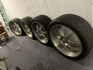 24 rims sell or trade for ps4 pro for Sale in Cypress, CA
