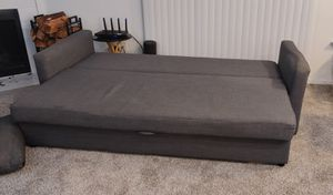 Convertible sofa with storage for Sale in SeaTac, WA