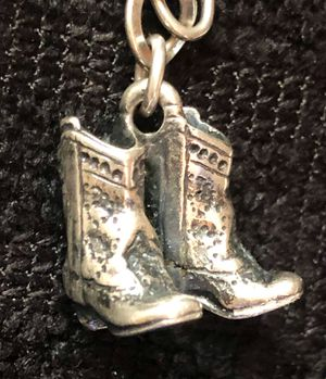 Retired James Avery Cowboy Boots Charm for Sale in Spring, TX