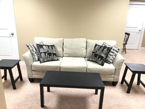 Couch and Coffee Table for Sale in Cuyahoga Falls, OH