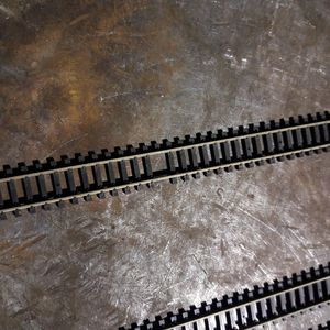 FREE! ABOUT 75 PIECES OF N GAUGE MODEL RAILROAD TRACK for Sale in Phoenix, AZ