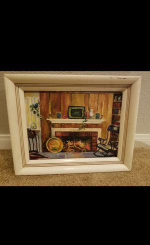 1952 signed antique painting for Sale in Las Vegas, NV
