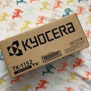 Genuine Kyocera TK-1152 Black Toner P2235dw M2635DW TK1152 for Sale in Chino Hills, CA