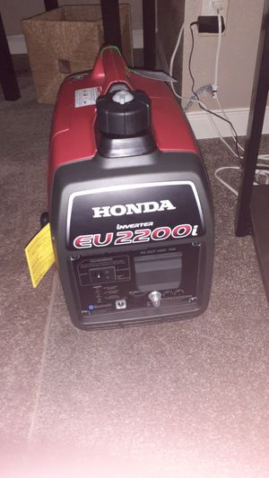 Honda eu2200 generator for Sale in Tukwila, WA