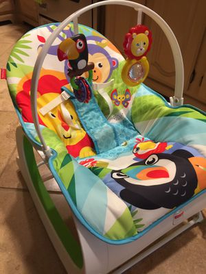 Fisher Price infant to toddler rocker and chair for Sale in West Greenwich, RI