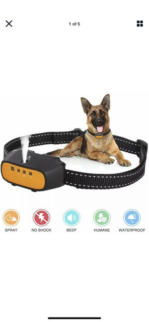 Citronella Spray Bark Collar, Automatic Training Bark Collar Rechargeable #7992 for Sale in Costa Mesa, CA