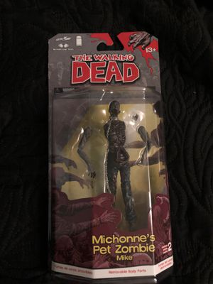 Michonnes pet zombie mike collectible action figure for Sale in South Gate, CA