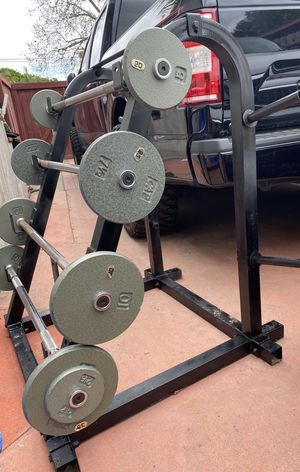 WEIGHT BARS for Sale in San Diego, CA