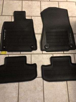 LEXUS RC 350 COUPE BLACK RUBBER ALL WEATHER FLOOR MATS,FITS 2015-2018 for Sale in Garden Grove, CA