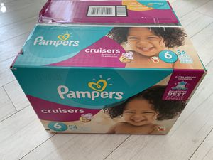Brand new box of Pampers Crusiers for Sale in Scottsdale, AZ