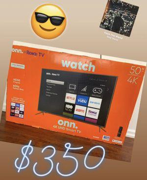"""Roku 50"""" 4K SMART TV for Sale in Warren, MI"""