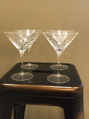 Set of 4 martini glasses for Sale in Mount Airy, MD