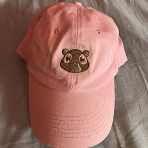 Pink bear hat for Sale in New Bedford, MA