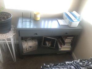 Grey desk for Sale in Hayward, CA