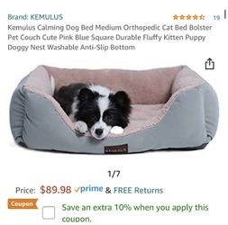 calming dog bed for Sale in Fort Worth,  TX