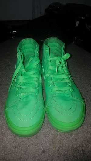 Hightop Lime Green Vans for Sale in West Palm Beach, FL