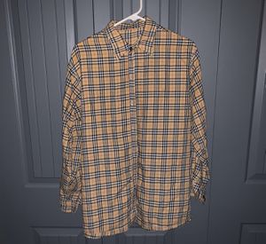 Burberry pattern flannel for Sale in Salt Lake City, UT