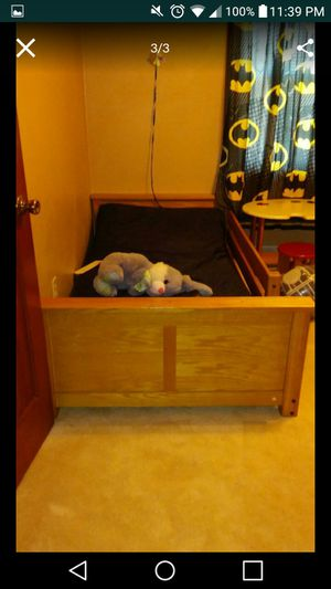 Twin bed with mattress for Sale in Chesapeake, VA