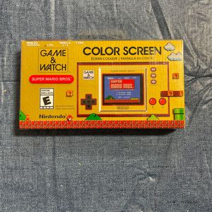 Nintendo Game And Watch Color Screen Game Boy New for Sale in Miami Shores, FL