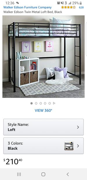 ***SAVE $125 *** NEW IN BOX TWIN LOFT BEDFRAME for Sale in Columbus, OH
