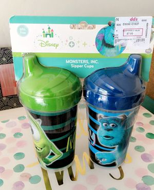 Monster Inc Sippy Cups New for Sale in Tolleson, AZ