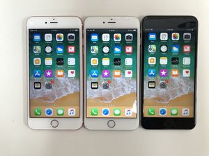 Factory unlocked Iphone 6S Plus 16GB (available: grey & rose gold color) - $250 each, firm price for Sale in Renton, WA