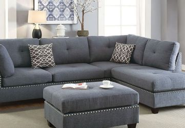 L Shape Sectional Sofa W/ Ottoman for Sale in La Puente,  CA
