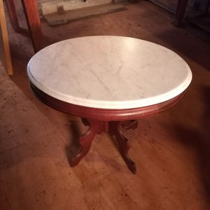 Antique Marble Top Table for Sale in Mitchells, VA