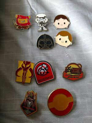 Disney pins Star wars assorted for Sale in Port Orchard, WA