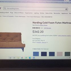 Way Fair Futon And Bedframe for Sale in Denver,  CO