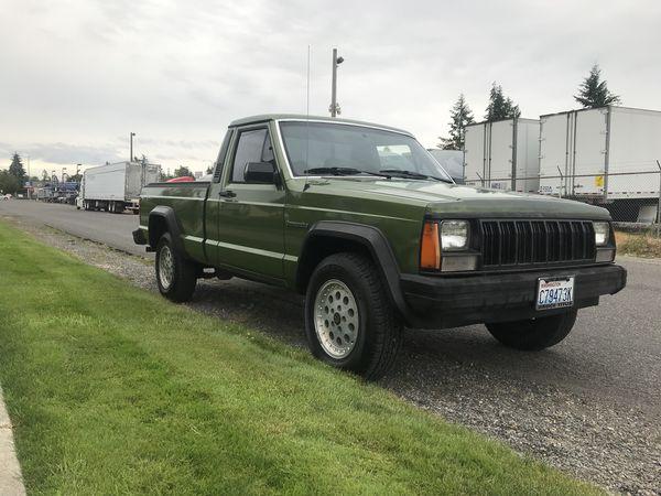 1989 Jeep Comanche 2WD 4.0 L I6