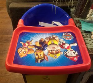 Paw patrol booster seat! for Sale in Robinson, TX