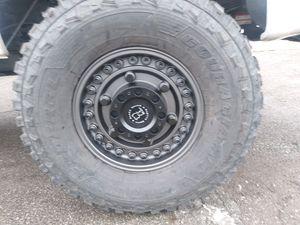 Black offroad wheels for Sale in Waldo, OH