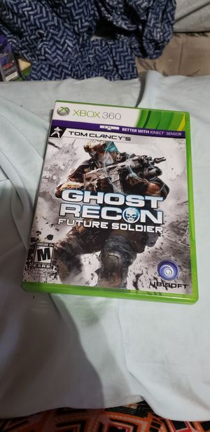 Xbox 360 Tom Clancy's ghost recon future soldier for Sale in Lynchburg, VA