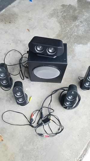 logitech X-530 Surround sound system for computer for Sale in San Diego, CA