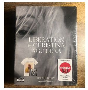 Christina Aguilera Liberation CD / Shirt bundle for Sale in Houston, TX