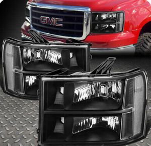 GMC Sierra 07-13 new headlights for Sale in Fresno, CA