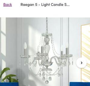 NEW chandelier light for Sale in Pickerington, OH