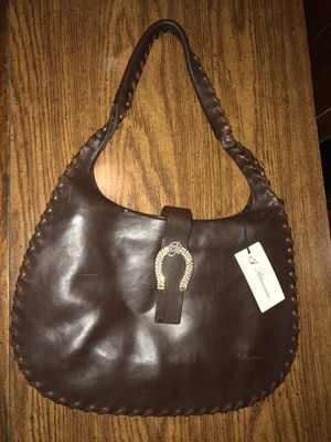Brown Purse Hobo Bag Blumarine Italy for Sale in Roselle Park, NJ