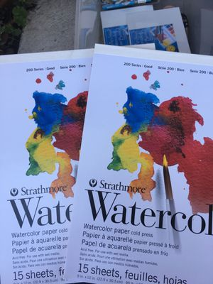 Watercolor paper 2 packets for Sale in Stockton, CA