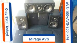 Mirage 5 piece surround speakers, excellent condition! for Sale in San Diego, CA