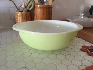 Pale green vintage Pyrex dish/bowl for Sale in Portland, OR